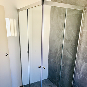 Semi Frameless Sliding Shower Screens
